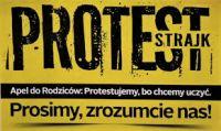 Więcej o: Akcja strajkowa